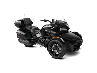 Can-Am Spyder F3 LTD Dark Steel Black Metallic '20